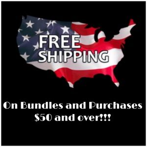 Get FREE Shipping with your bundles & purchases!